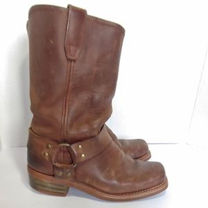 Dingo womens  leather harness boots